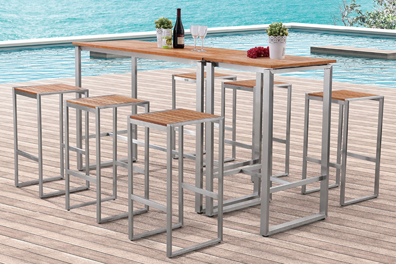 Products > BAR CHAIR & BAR TABLE_GREENTEK Outdoor Furniture