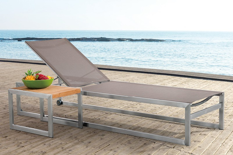Products Daybed Nordic Style Design Outdoor Stainless Steel